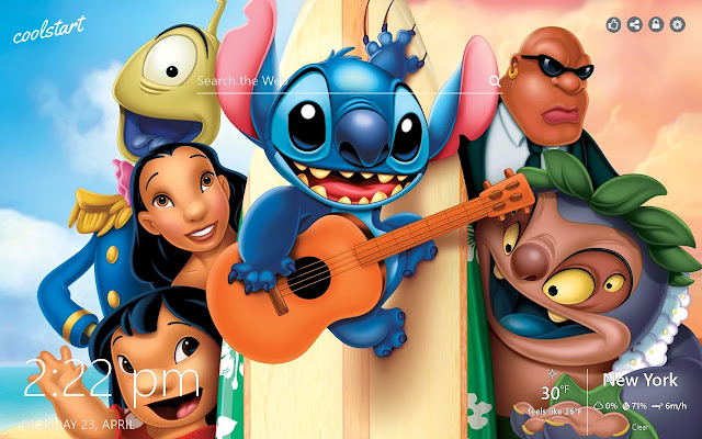 Lilo and Stitch HD Wallpapers New Tab Theme