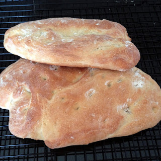 Ciabatta (Italian Slipper Bread).