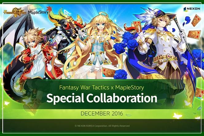 [Fantasy War Tactics] คอนเทนท์ใหม่! ผจญภัยร่วมกับแกงค์ MapleStory