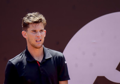 Dominic Thiem moest ziek afzeggen voor het ATP-toernooi van Cincinnati