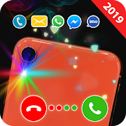 Color flashlight on call and sms: Color flash