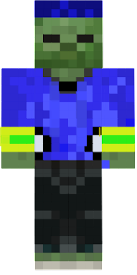 a cool zombie skin