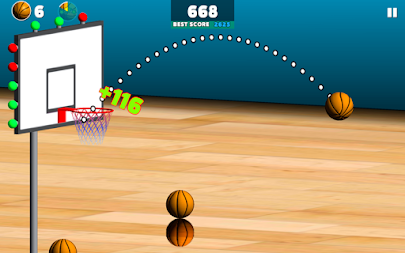 Basketball Sniper APK screenshot thumbnail 1