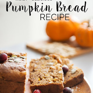 {Super Moist} Pumpkin Bread