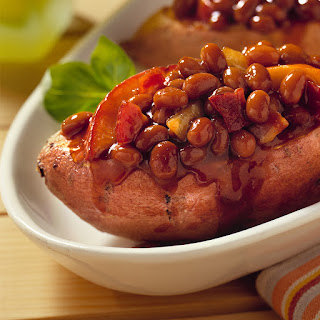 Bush's® Grilled Stuffed Sweet Potatoes