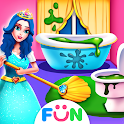 Princess Home Girls Cleaning – Home Clean up Games icon
