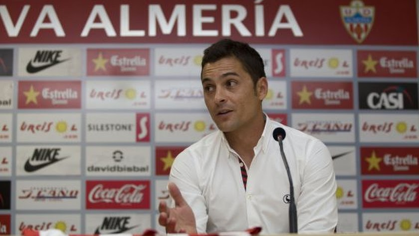 Francisco en su etapa en el Almería.