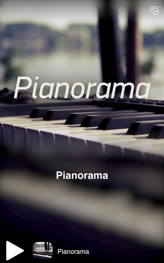 Pianorama- screenshot