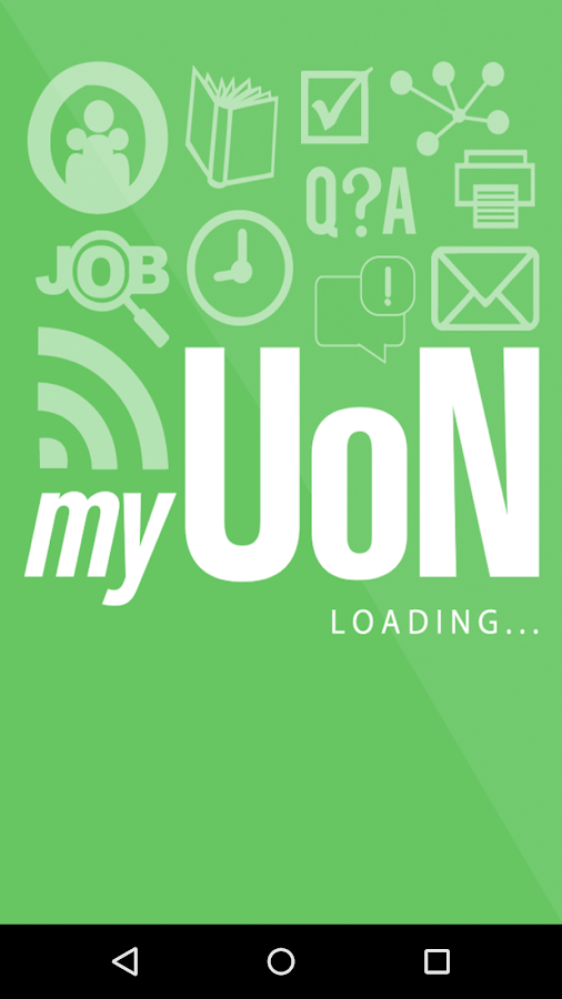 myUoN- screenshot