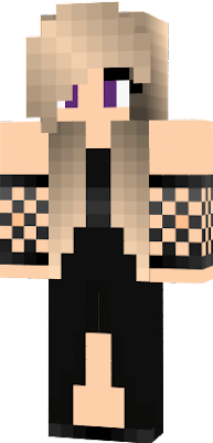Robe Minecraft Fille