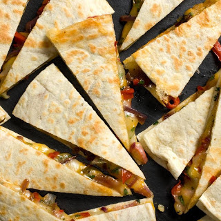 Rajas Quesadillas.