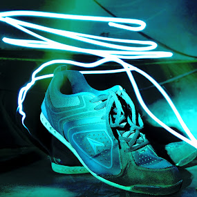Step (Lightstep) by Ishtiak  Ahmed - Artistic Objects Clothing & Accessories ( shoes, bangladesh, light painting, night photography, hold, lifestyle, busy, long exposure, nikon, hope )