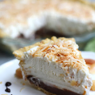 Haupia Pie with Macadamia Crust
