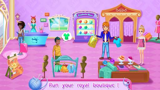 Code Triche Royal Tailor Shop - Boutique Prince & Princess APK MOD screenshots 3