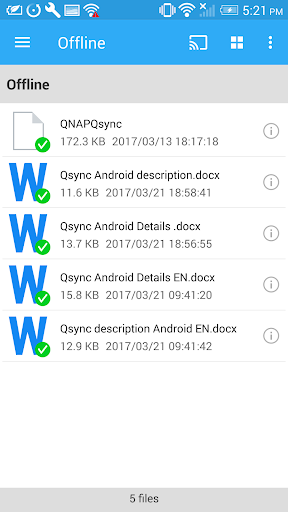 Qsync screenshot 4