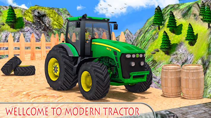 Modern Farm Simulator - screenshot