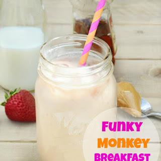 Funky Monkey Breakfast Smoothie.