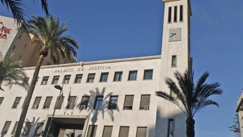 La Audiencia Provincial de Almería.