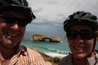 Photo: Year 2 Day 143 - Us Two and London Bridge on the Great Ocean Road