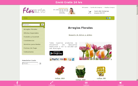 Florería Arte screenshot 3