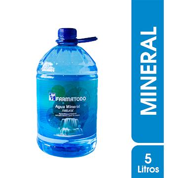 Agua Farmatodo 100%   Mineral Natural X5L.