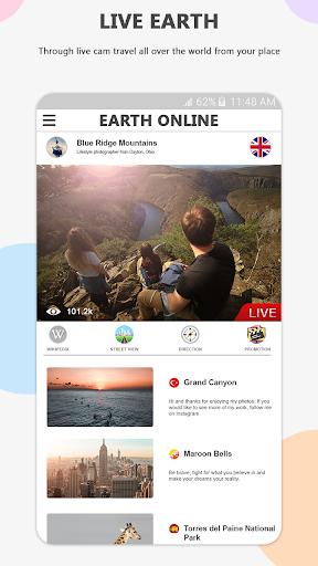 Earth Online Live World Webcams screenshot 2
