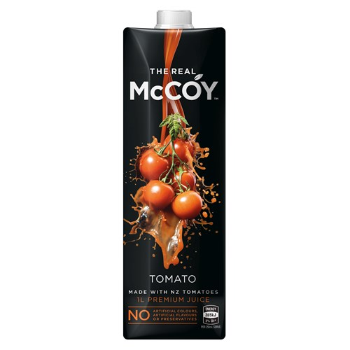 Logo for Mccoy Tomato Juice