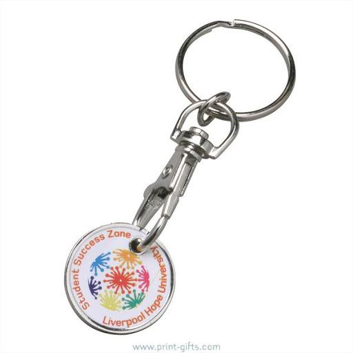 No Minimum Custom Branded Keyrings