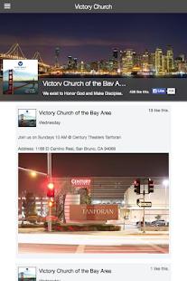 Victory Church of the Bay Area- screenshot thumbnail