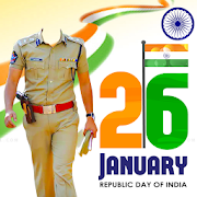 Republic Day Police Suit Photo Editor 2019 Jan26th