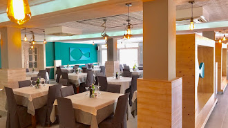 Salones del Restaurante Blanca Brisa.