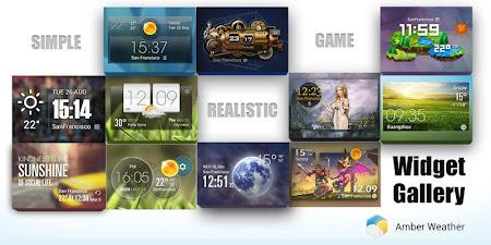 HTC Sense Style Weather Widget 2.0_release screenshot 203405