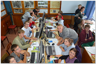Photo: и при написании отчета в ландшафтном кабинете,