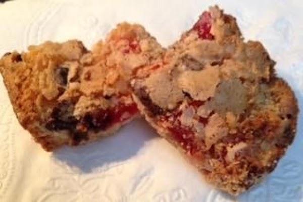 Cherry Chocolate Coconut Bars Recipe