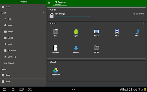 App File Selector/Explorer APK for Windows Phone