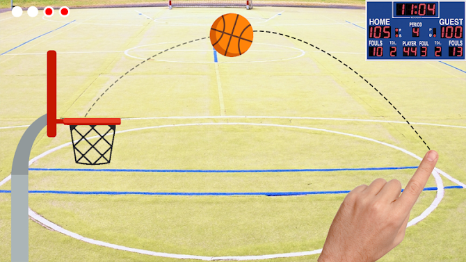 Basketball Shooter - Free Throw Game Android 3