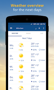 wetter.com - Weather and Radar 2.27.0