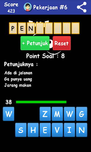 Tebak Kata 2016 2.0 screenshots 5
