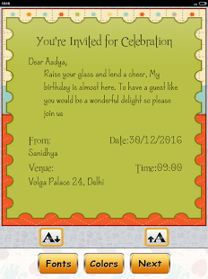 birthday invitation card maker apps on google play