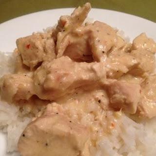 Creamy Italian Slow Cooker Chicken.