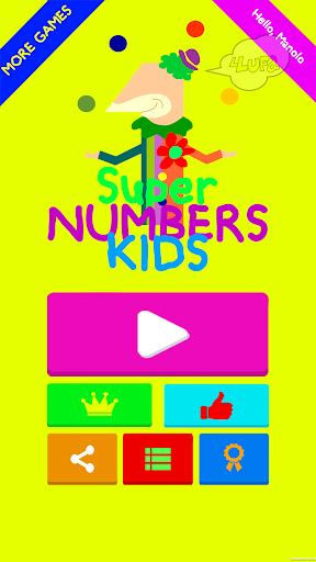 Super Numbers Kids