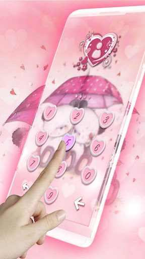 Pink Love Bear Theme for Android apk 5