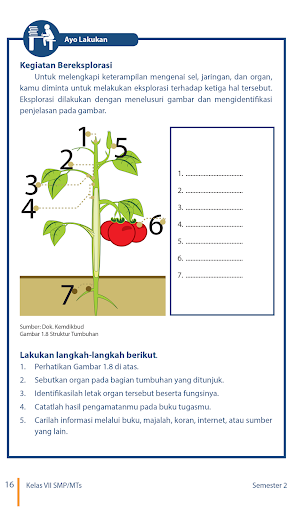 Buku Ipa Kelas 7 Kurikulum 2013 Semester 2