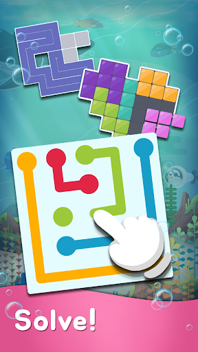 My Little Aquarium - Free Puzzle Game Collection 43 screenshots 5