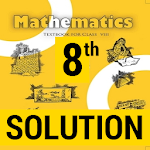 8th Maths NCERT Textbook And Solution icon