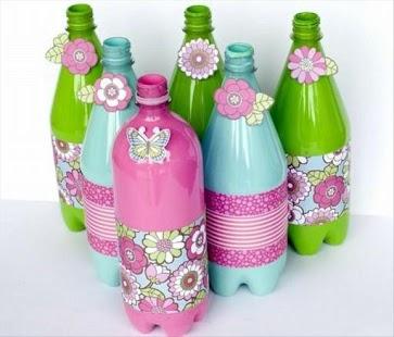 DIY plachty plastové láhve - náhled