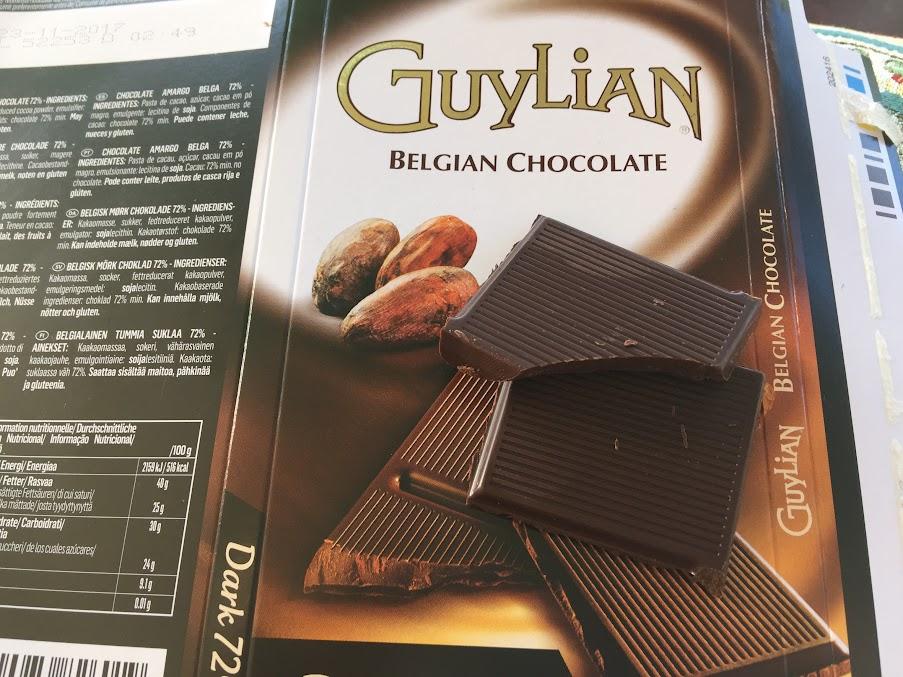 72% guylian bar open