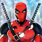 Superhero Iron Ninja Battle: City Rescue Fight Sim 11