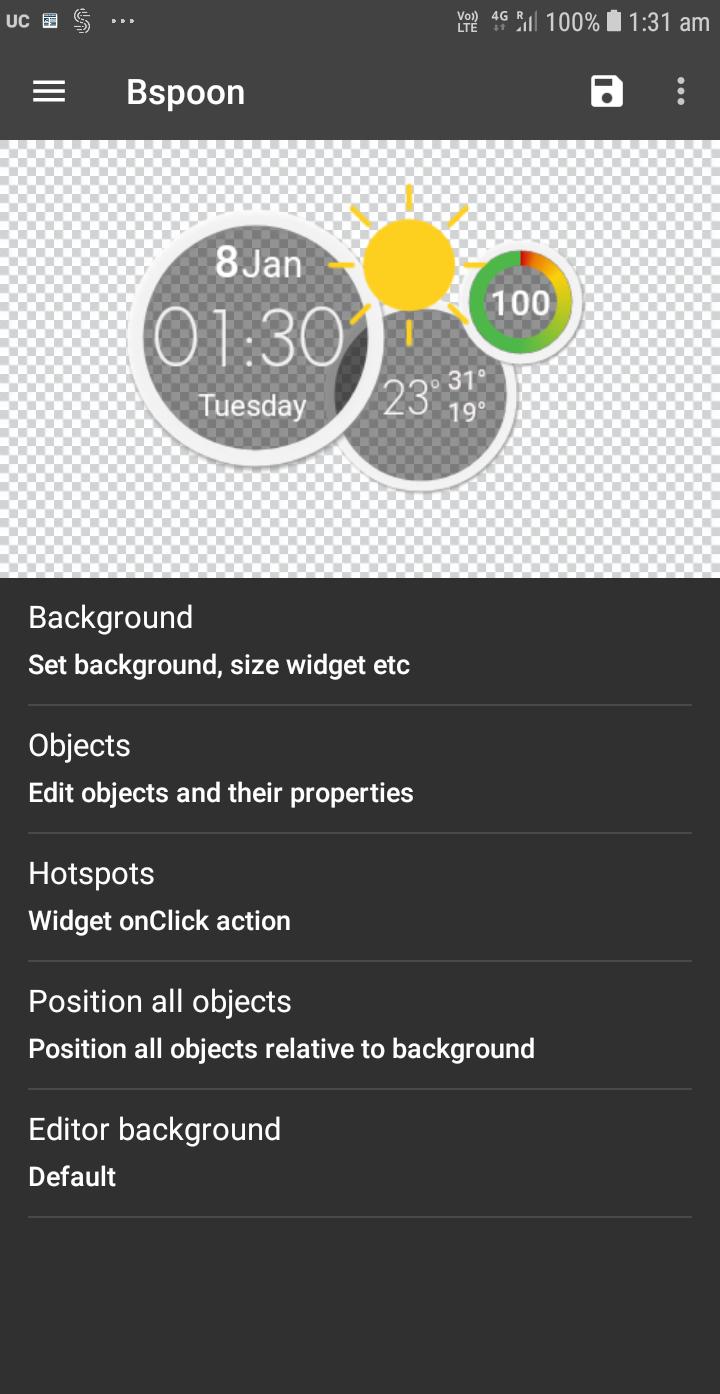 UCCW - Ultimate custom widget Screenshot 3