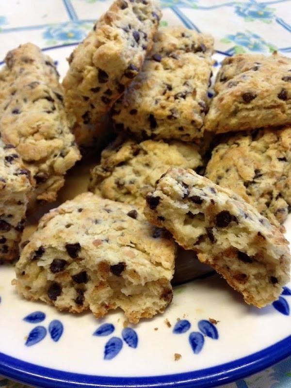 Tina's Choco-coco Scones Recipe